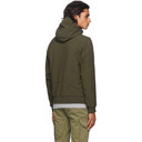 C.P. Company Khaki Nylon Hooded Jacket