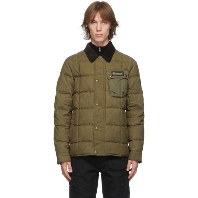 Belstaff Khaki Down Ranger Jacket