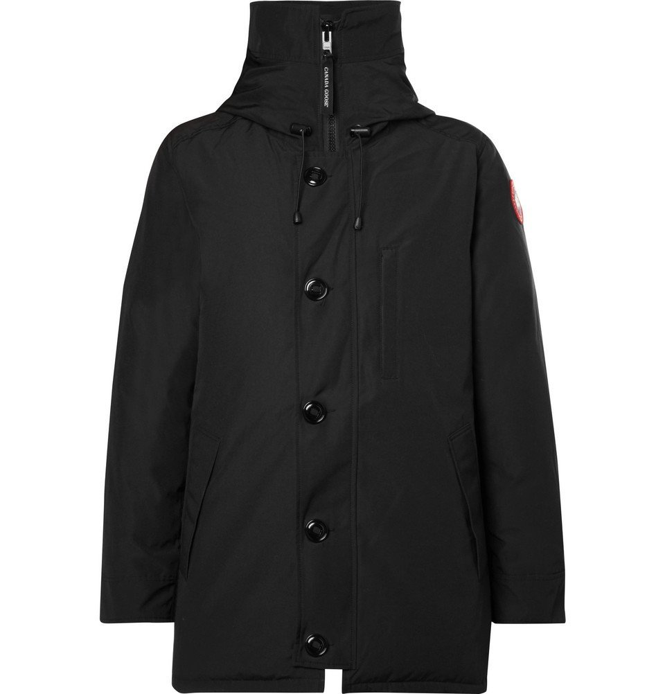 Photo: Canada Goose - Chateau Shell Hooded Down Parka - Men - Black
