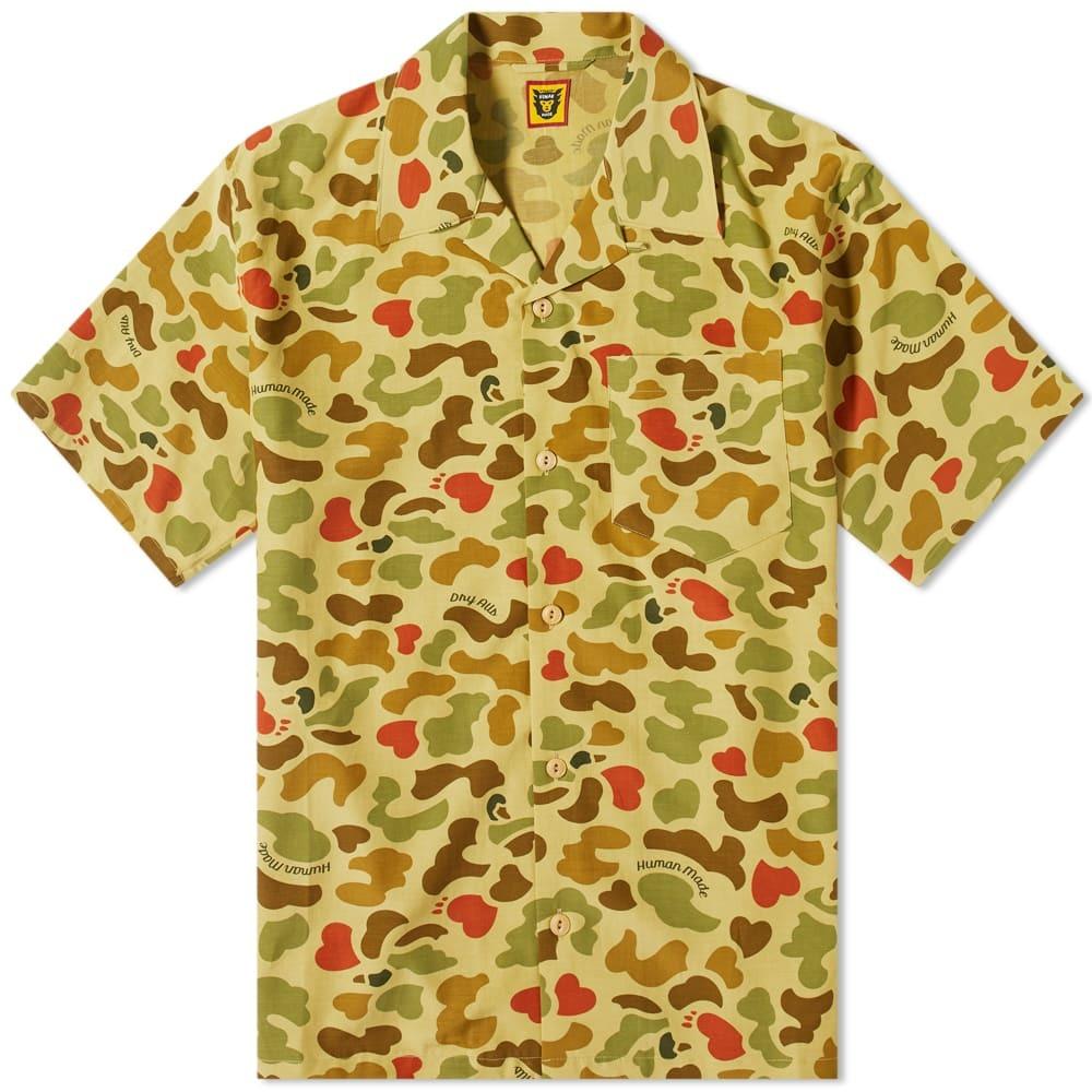 Photo: Human Made Duck Camo Aloha Shirt