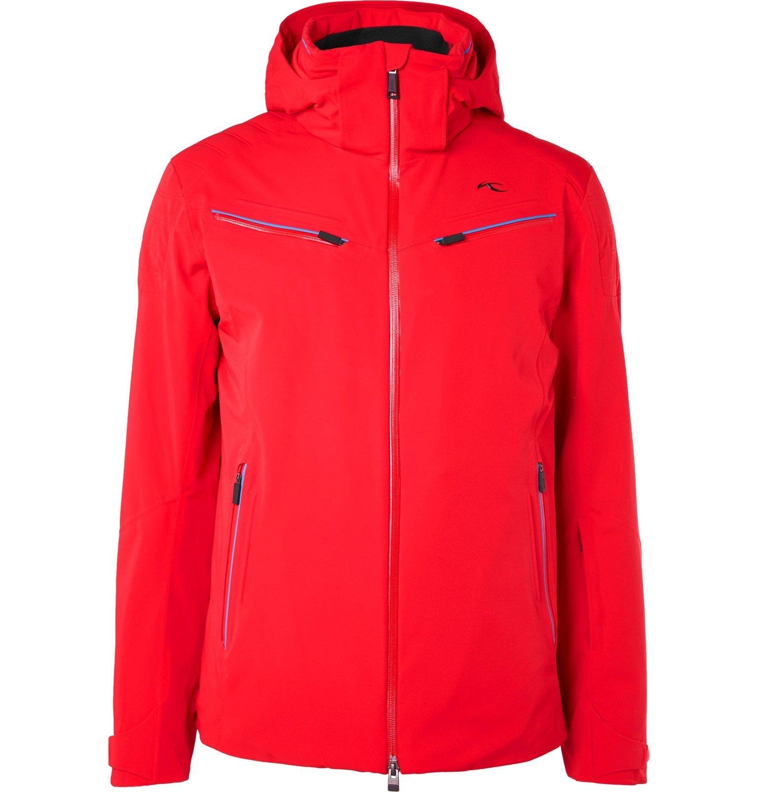 Photo: Kjus - Formula Hooded Jacket - Red