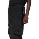 Raf Simons Black Templa Edition Loose Shell Cargo Pants