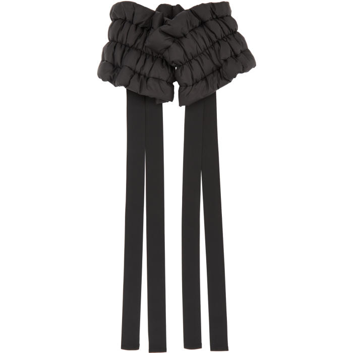 Photo: Moncler C Black Micro Rainwear Belt