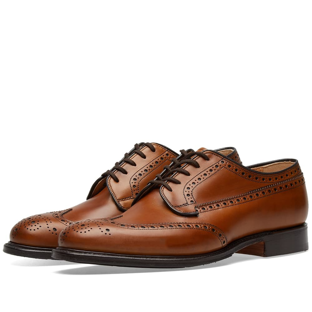 Photo: Church's Thickwood Longwing Brogue Brown