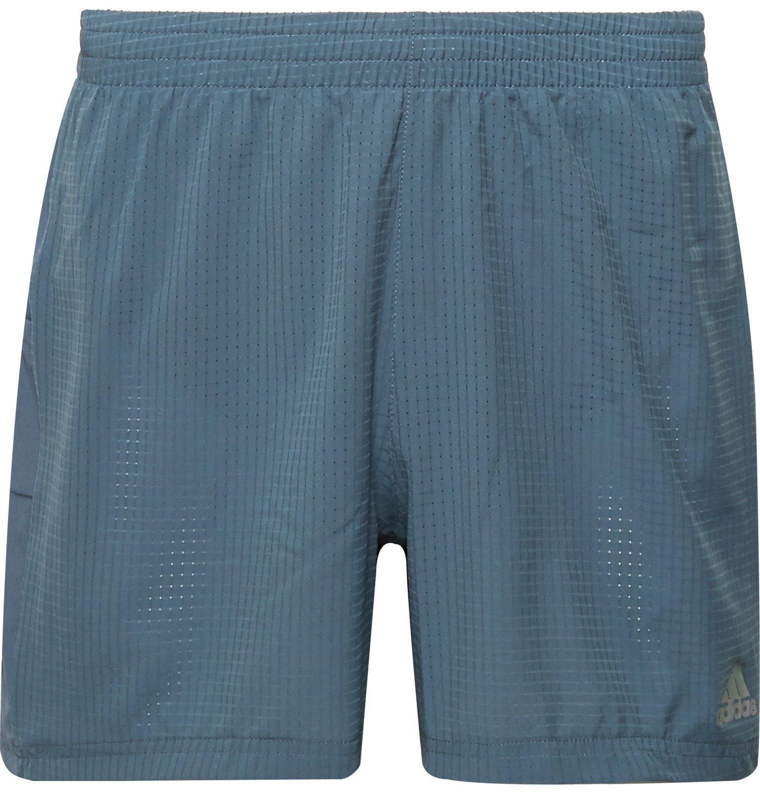 Photo: Adidas Sport - Supernova Climacool Ripstop Shorts - Blue