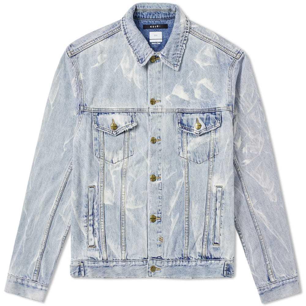 Ksubi Oh G Denim Jacket Blue
