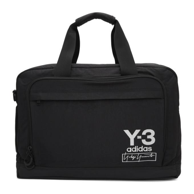 Photo: Y-3 Black Weekender Messenger Bag