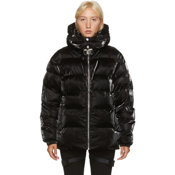 1017 ALYX 9SM Black Nightrider Puffer Jacket