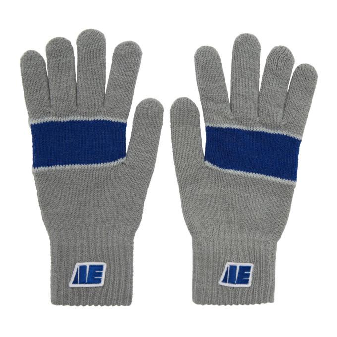Photo: ADER error Grey Centre Stripe Gloves