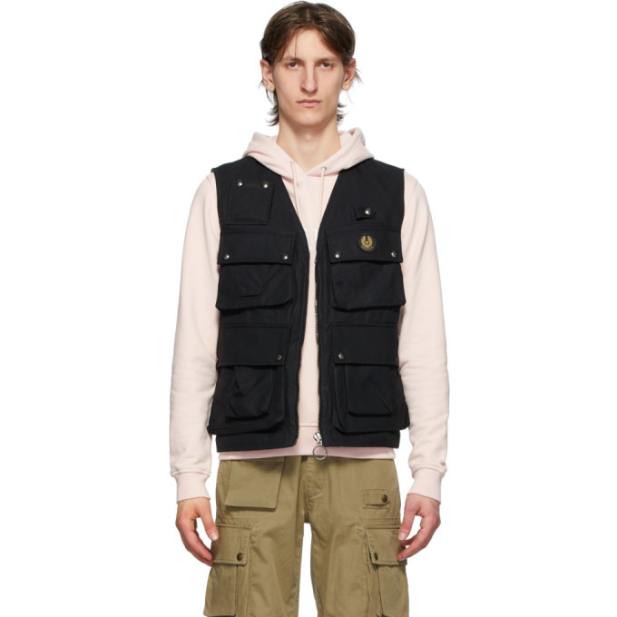 Photo: Belstaff Black Castmaster Gilet