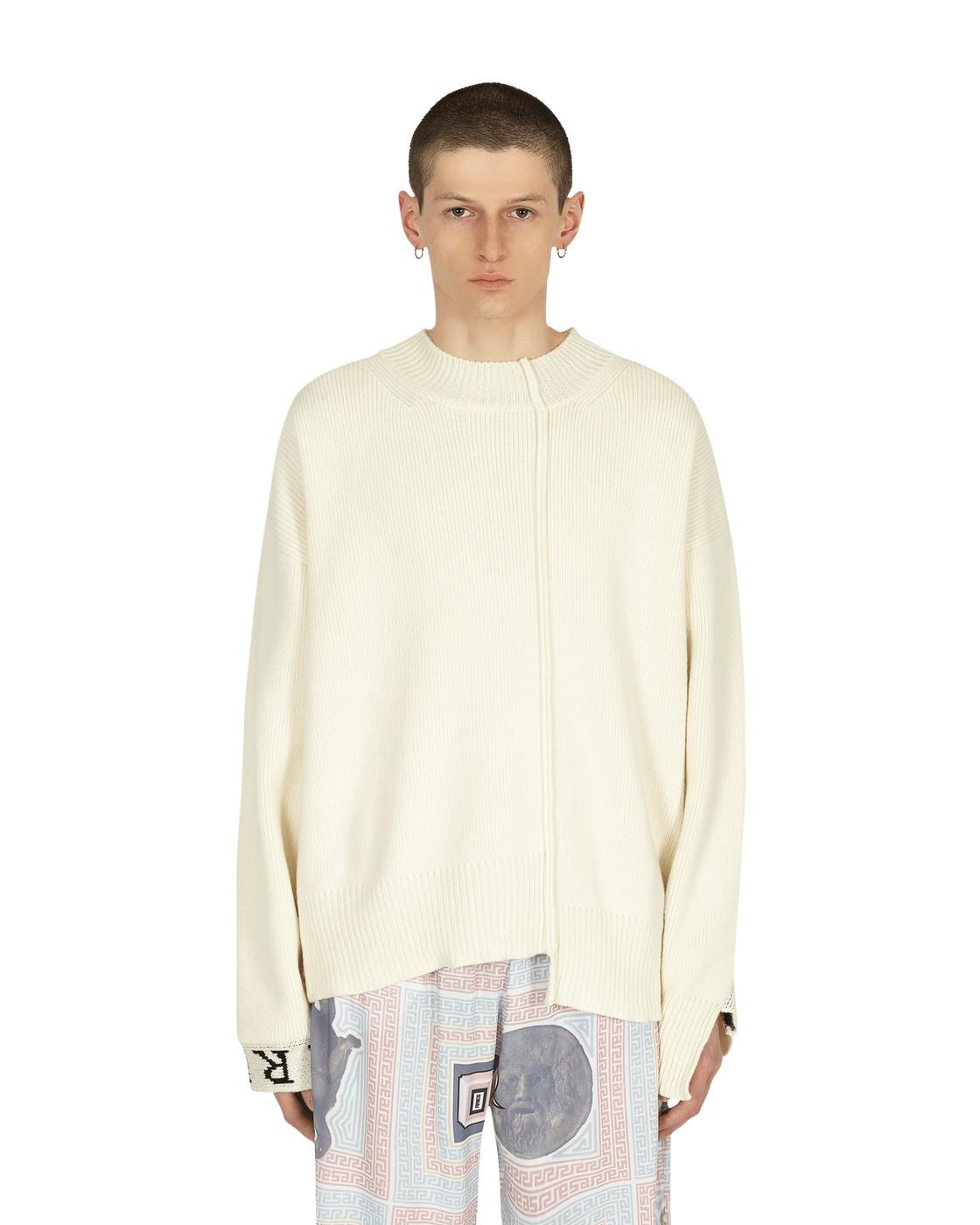 Aries Reconstructed Sweater Ecru