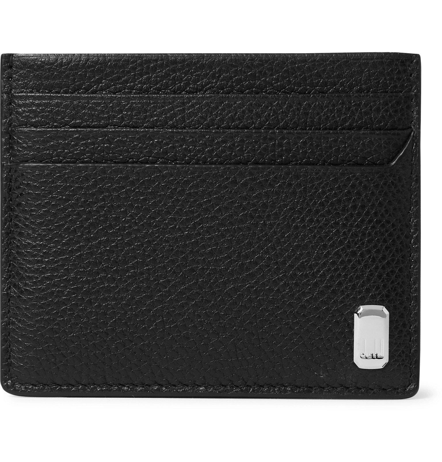 Dunhill - Belgrave Full-Grain Leather Cardholder - Black