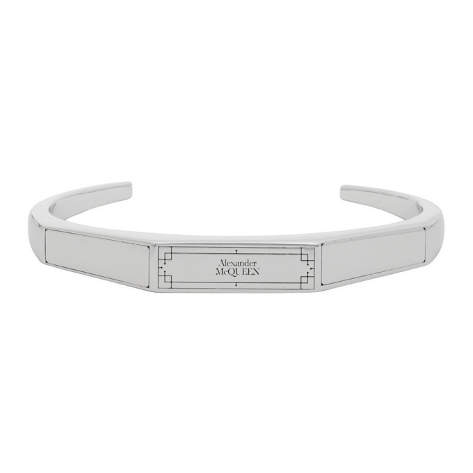 Photo: Alexander McQueen Silver Identity Bracelet