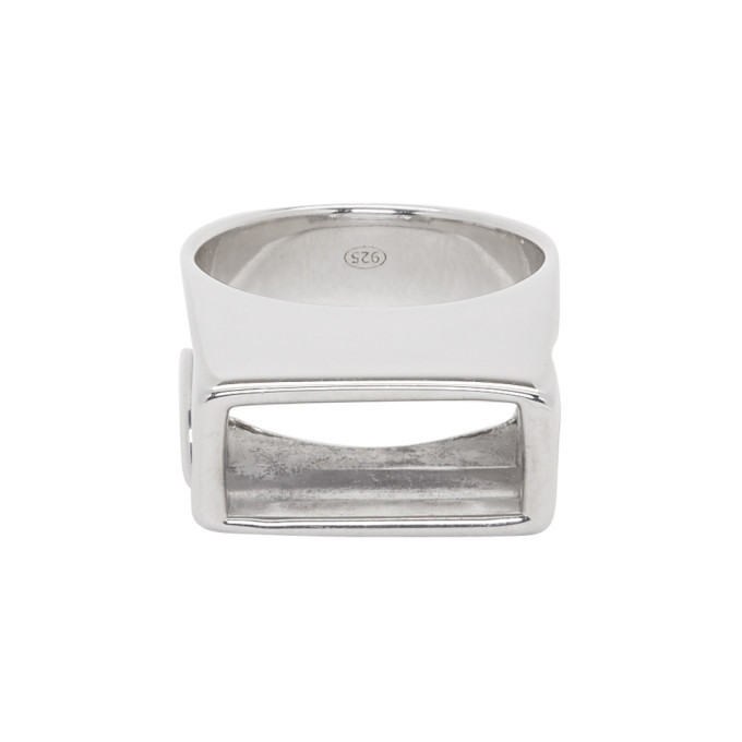 Photo: Dheygere Silver Canister Ring