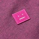 ACNE STUDIOS - Forba Logo-Appliquéd Mélange Loopback Cotton-Jersey Sweatshirt - Pink