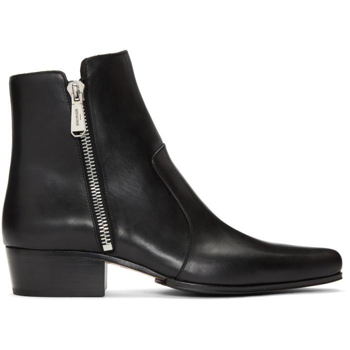 Photo: Balmain Black Anthos Boots