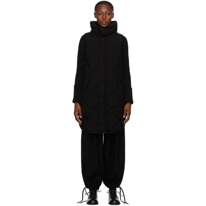 Photo: Regulation Yohji Yamamoto Black Down R-Long Vest