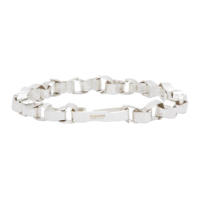 Photo: Jil Sander Silver Geometry Bracelet