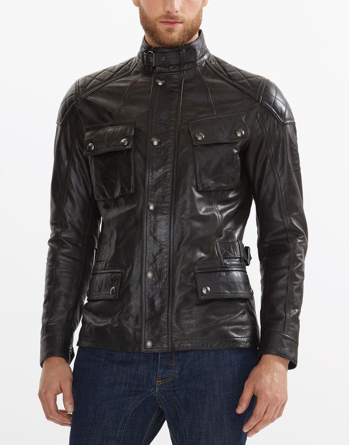 Belstaff Turner Jacket Black