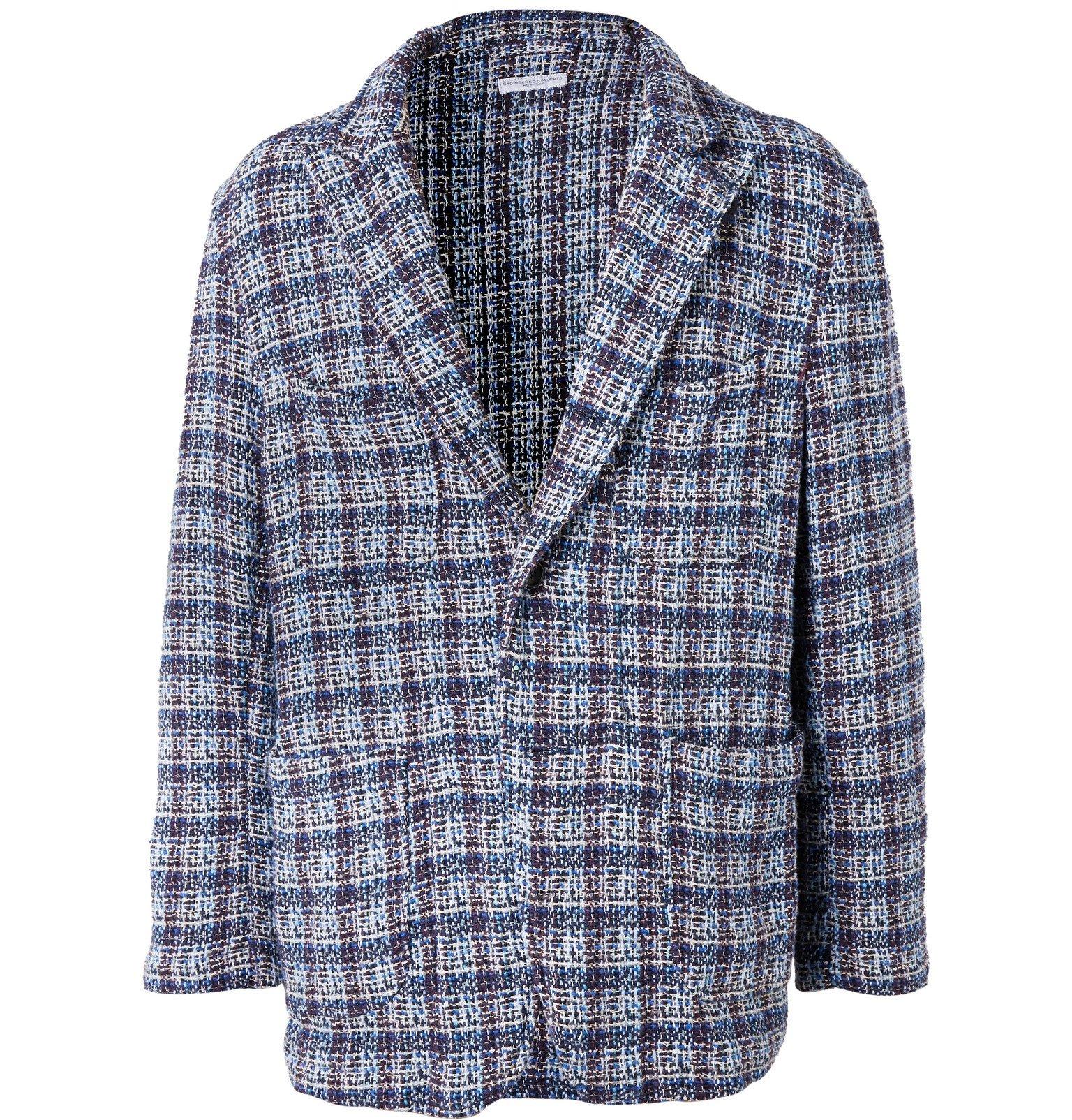 Photo: Engineered Garments - Unstructured Cotton-Blend Tweed Blazer - Blue