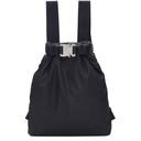 1017 Alyx 9SM Black Drybag Buckle Backpack