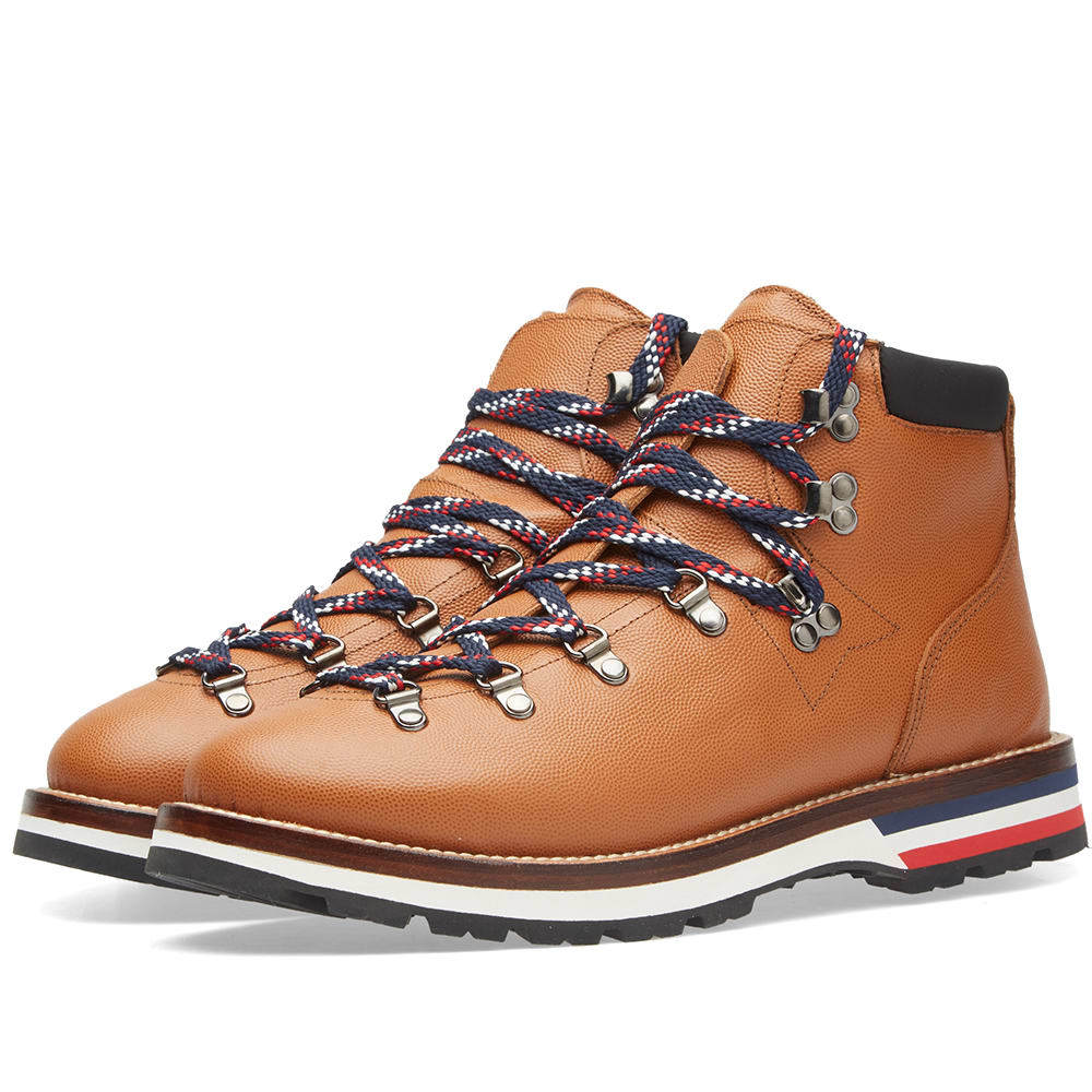 Photo: Moncler Peak Leather Hiking Boot
