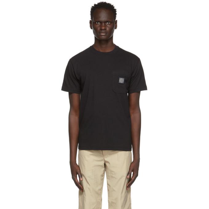 Stone Island Black Pocket T-Shirt