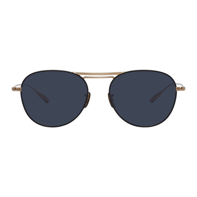 Photo: Oliver Peoples Gold Cade-J Sunglasses