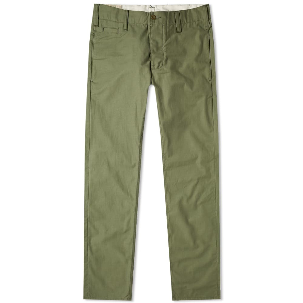 Photo: Nudie Regular Anton Pant Army Sateen Selv