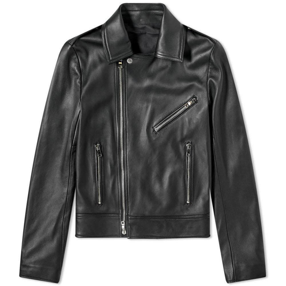 Photo: Balmain Perfecto Leather Jacket