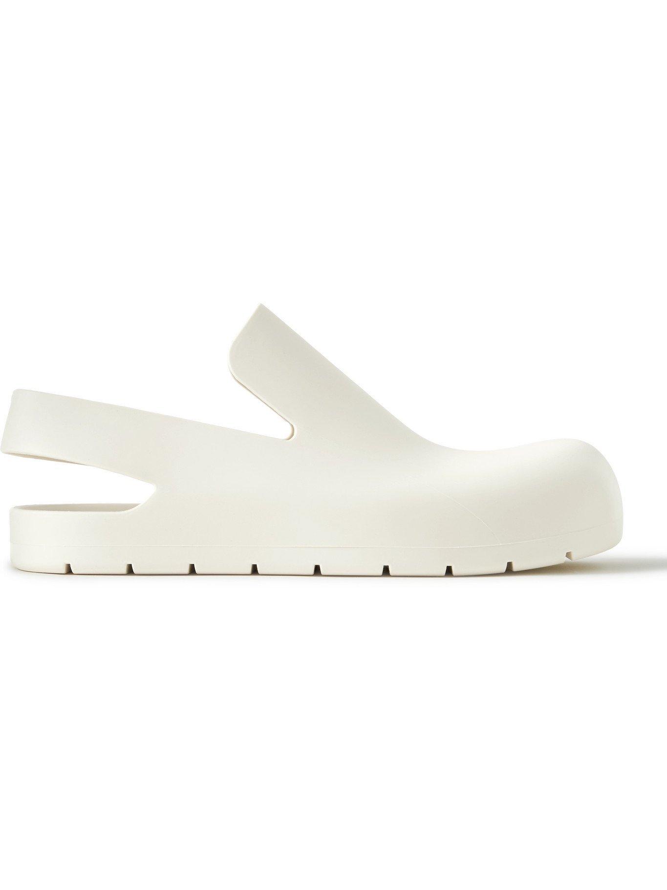 Photo: BOTTEGA VENETA - Rubber Sandals - White