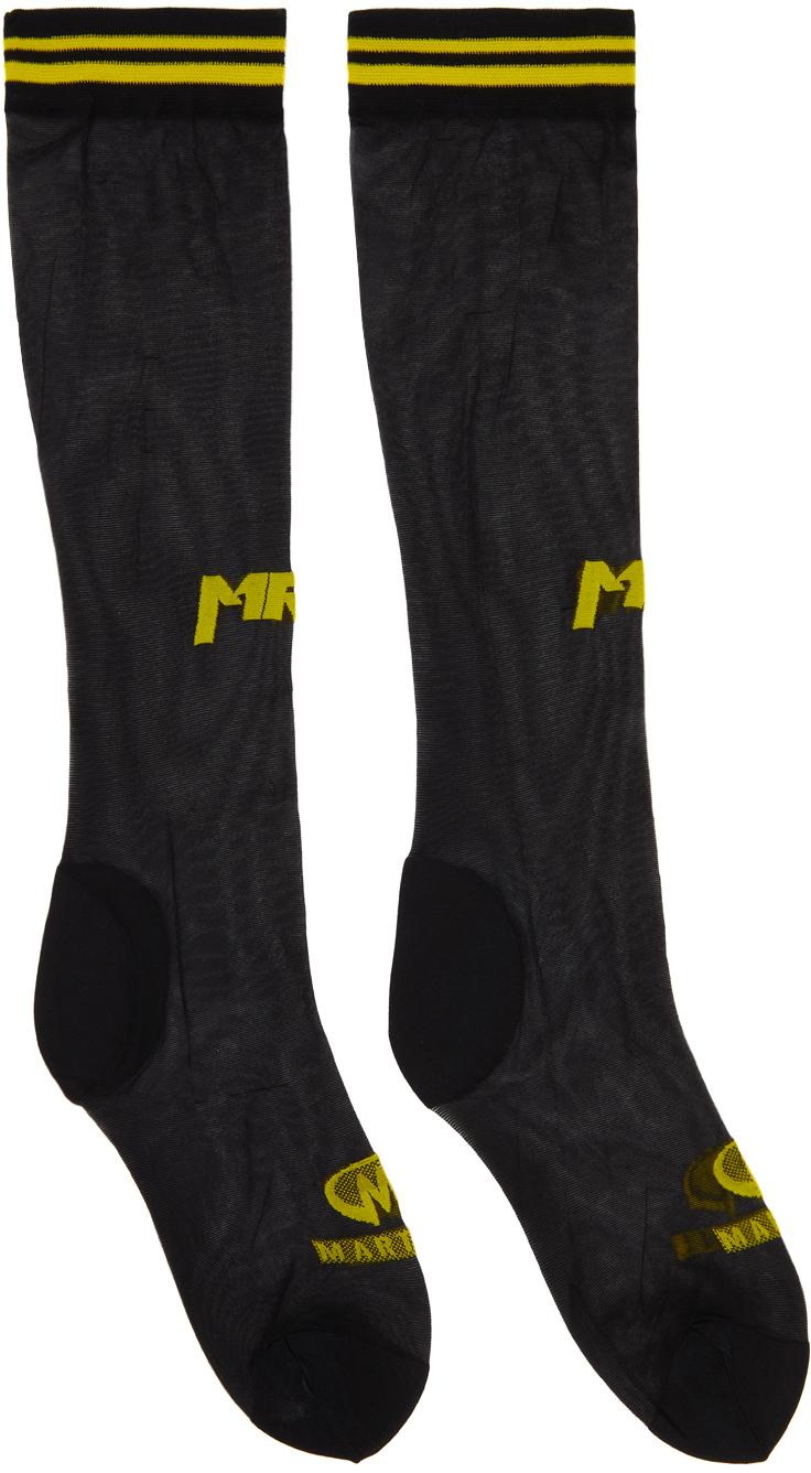 Photo: Martine Rose Black & Yellow Reese's Socks