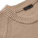 Belstaff - Ribbed Cotton Sweater - Men - Beige