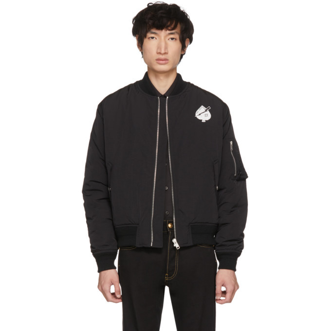 Photo: Givenchy Black Creatures Bomber Jacket