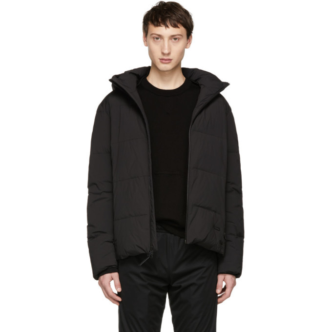 Photo: Woolrich John Rich and Bros Black Down Comfort Jacket