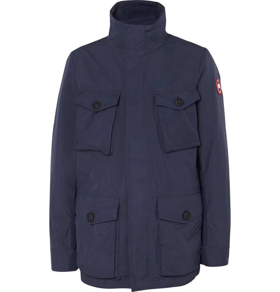 Photo: Canada Goose - Stanhope Shell Jacket - Navy