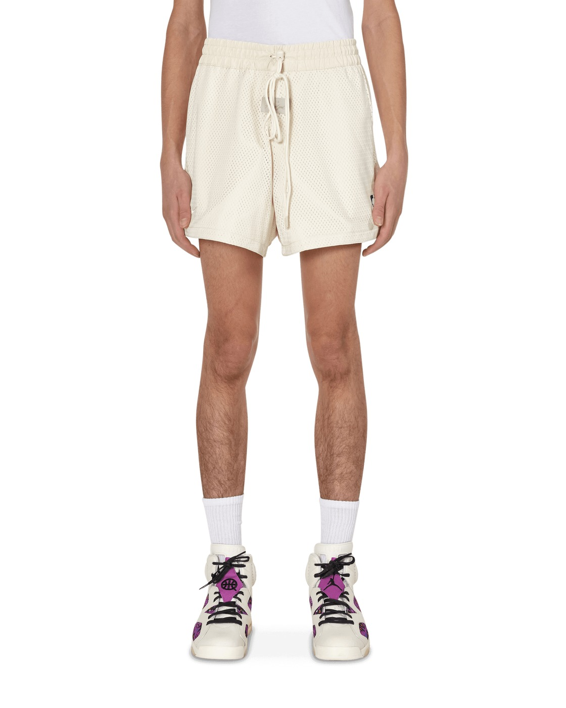 Photo: Nike Special Project Jerry Lorenzo Basketball Shorts Light Cream
