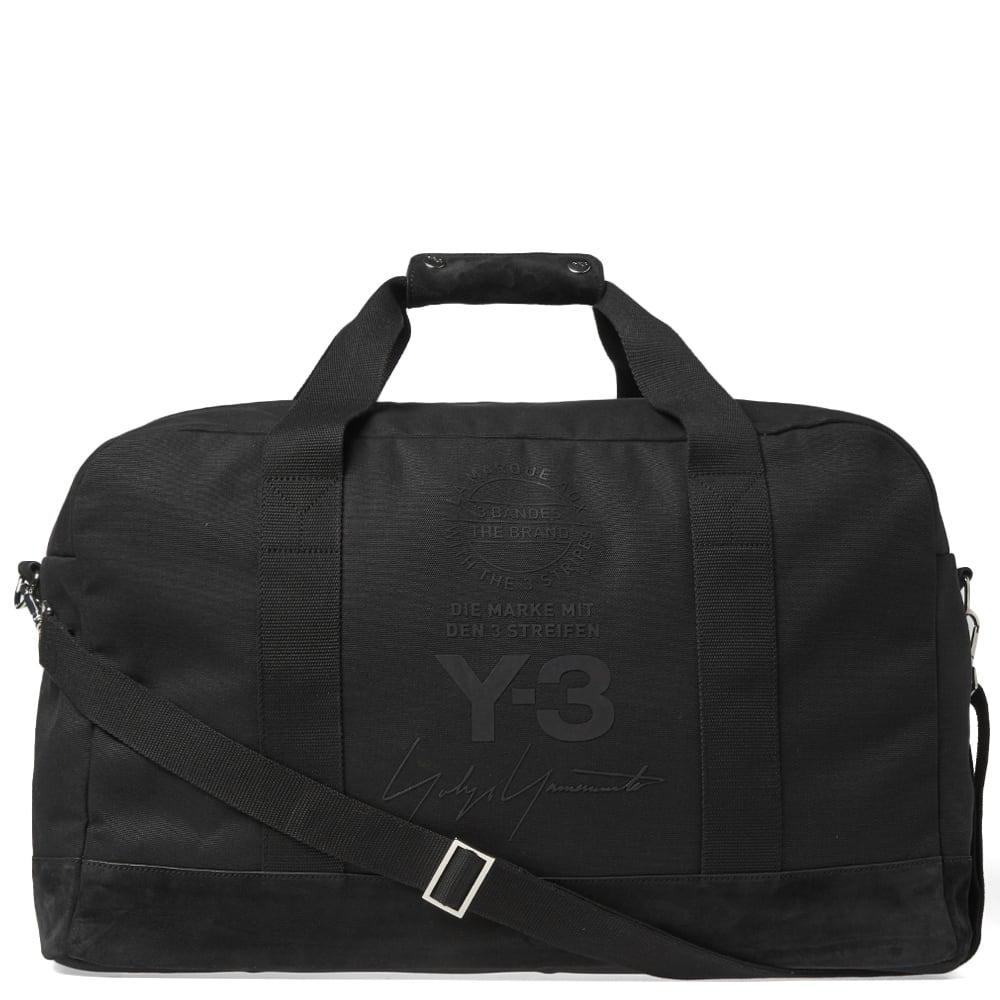 Y-3 Stacked Brand Weekend Bag
