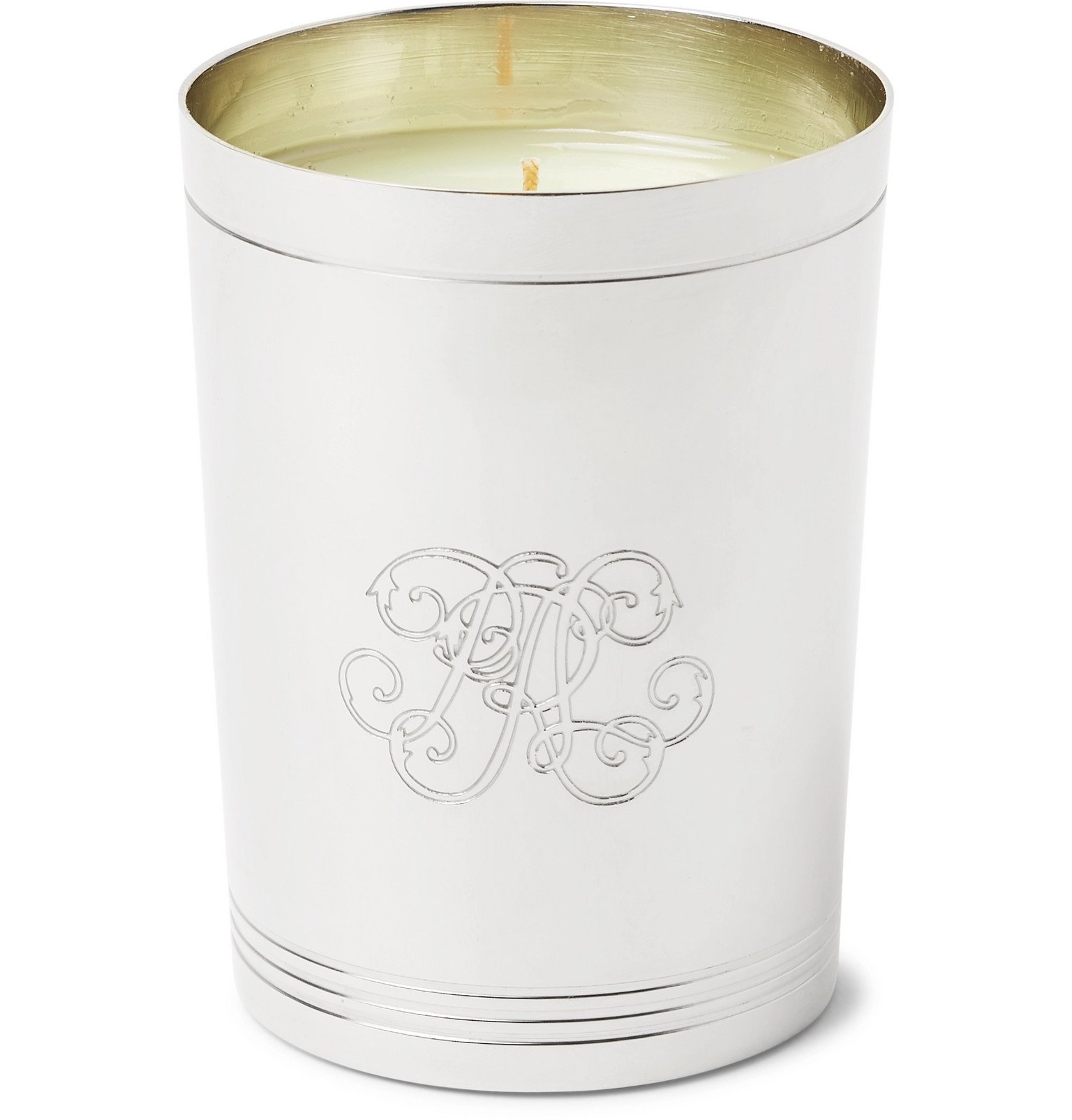 Photo: Ralph Lauren Home - 888 Flagship Scented Candle - Silver