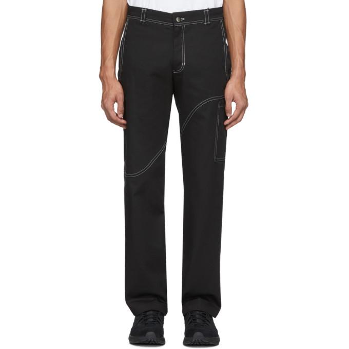 EDEN power corp Black Corp Cargo Pants