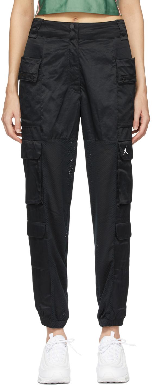 Nike Jordan Black Heatwave Utility Trousers