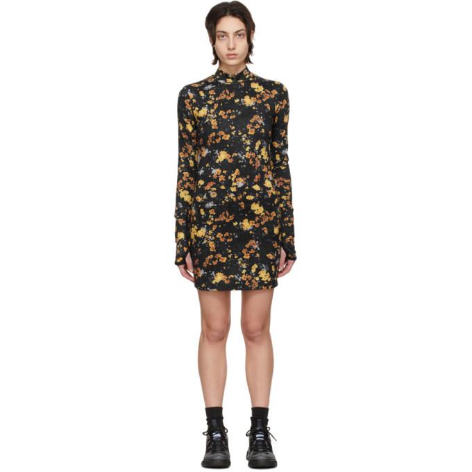 MCQ Black Base Layer Print Dress