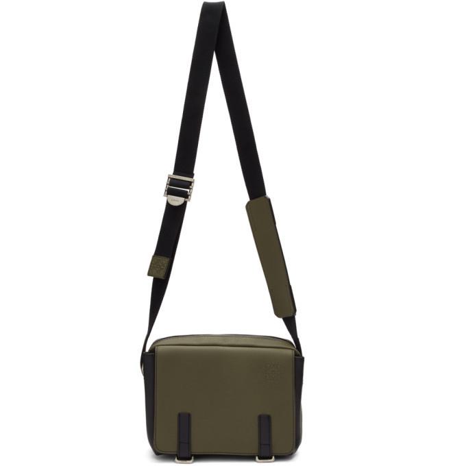 Photo: Loewe Khaki XS Military Messenger Bag