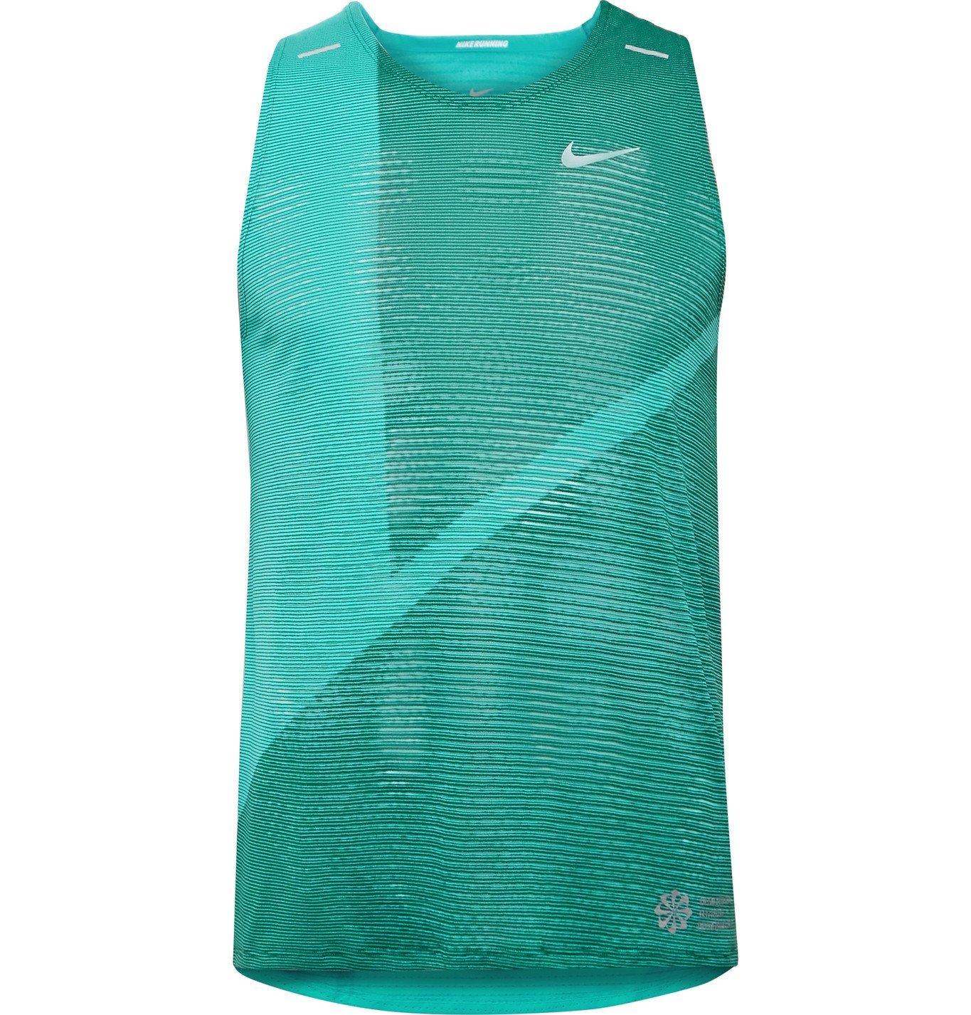 Photo: Nike Running - Rise 365 Dri-FIT Tank Top - Blue