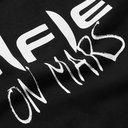 Raf Simons - Oversized Printed Fleece-Back Cotton-Jersey Hoodie - Black