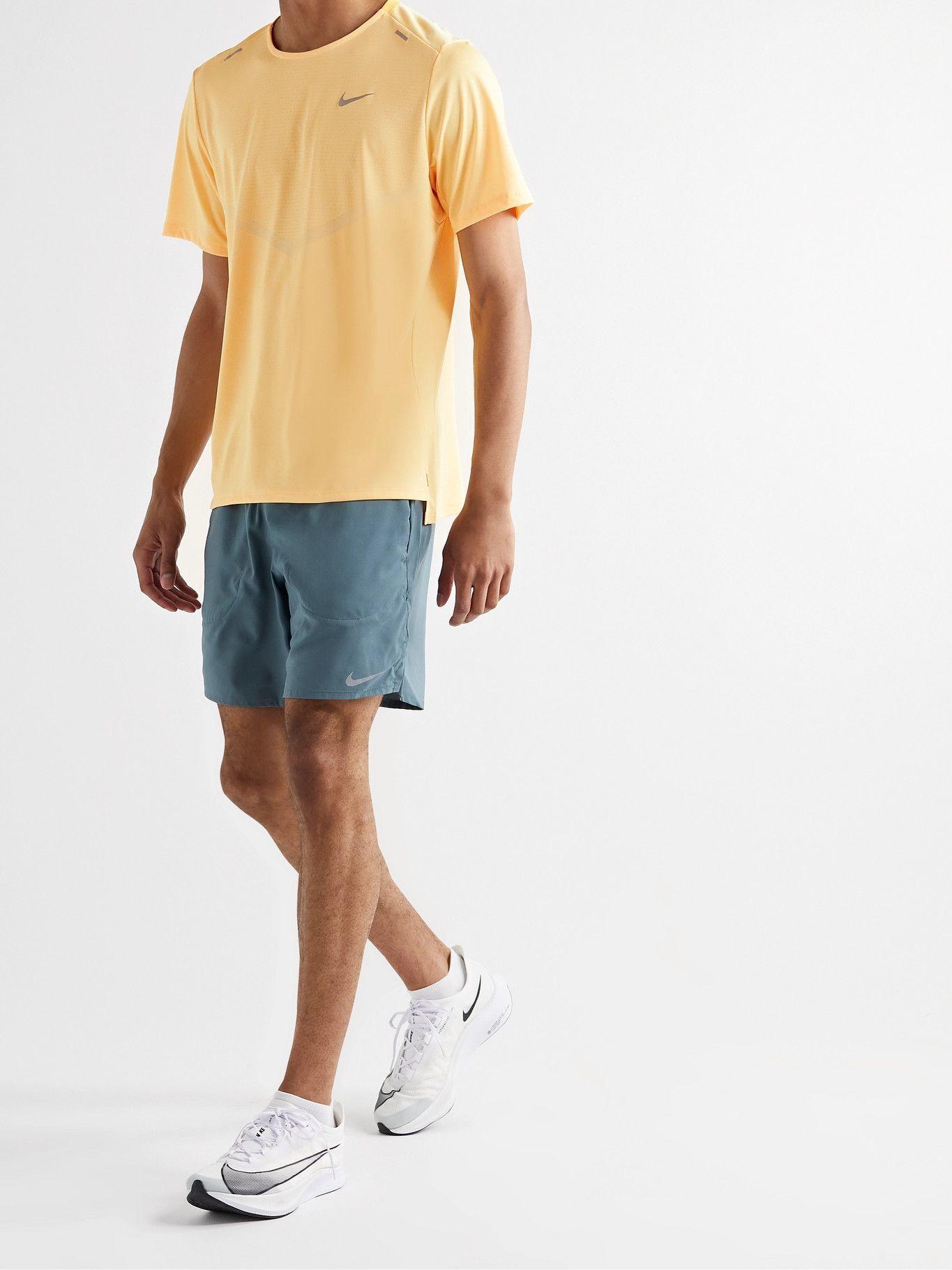 NIKE RUNNING - Rise 365 Dri-FIT T-Shirt - Orange