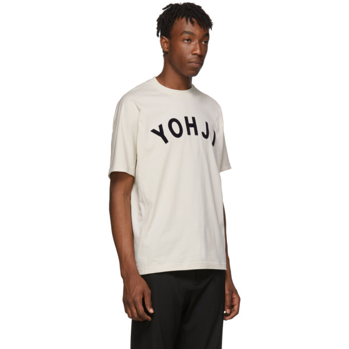 Y-3 Off-White Yohji Letters T-Shirt