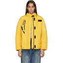 NAPA by Martine Rose Yellow A-Sand Jacket