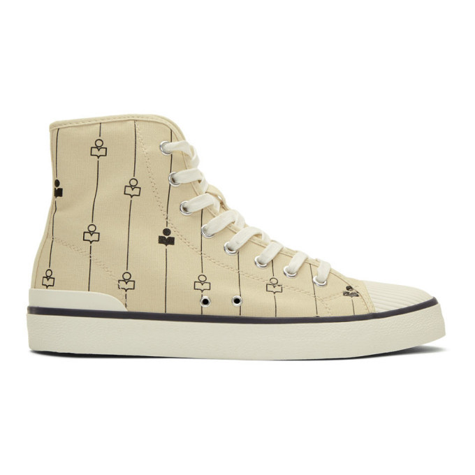 Photo: Isabel Marant Off-White Benkeenh Sneakers