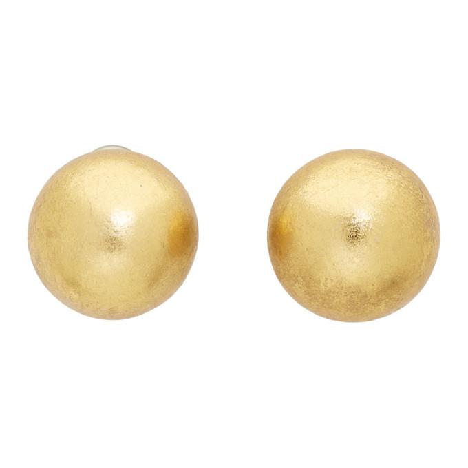 Photo: Monies Gold Callao Earrings